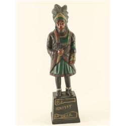 Cast Iron Bank of Indian Chief