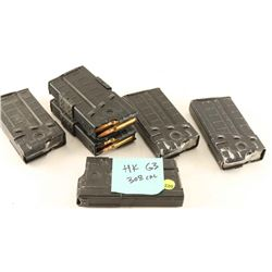 Lot of H&K G3 Mags & Ammo