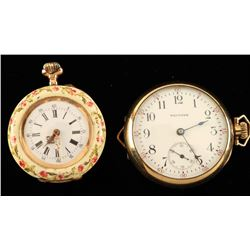 Lot of 2 Ladies Small Watches