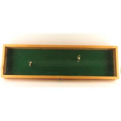 Rifle Display Case with Mounts
