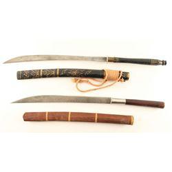 Lot of 2 Philippine Swords