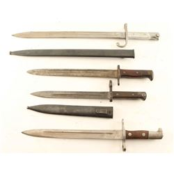 Lot of Misc. German Mauser Bayonets