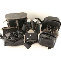 Lot of 4 Pairs Binoculars