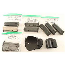Lot of Mags & Holster