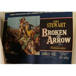 Vintage 'Broken Arrow' Movie Poster