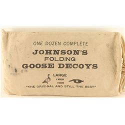 Lot of Folding Goose Decoys