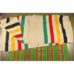 Hudson Bay Point & Pendleton Blankets