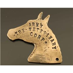 Army Veterinary Corps Horse Head