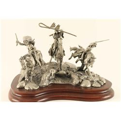 Fine Pewter Sculpture