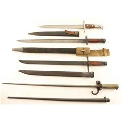 Lot of Misc. Bayonets