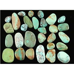 Lot of Loose Turquoise Cabochons