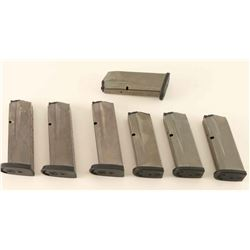 Lot of 7 S&W M&P Mags