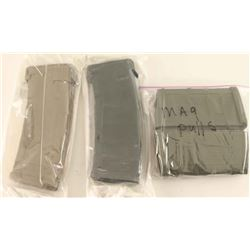 Lot of 4 .223 Magpul Mags