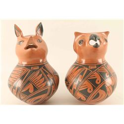 Lot of 2 Mata Ortiz Pots