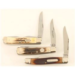 Lot of 3 Pocket Knives