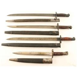 Lot of Enfield Bayonets