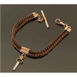 Braided Hair Watch Fob