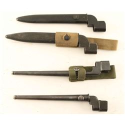 Lot of British Enfield Spike & Blade Bayonets