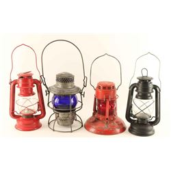 Lot of 4 Lanterns