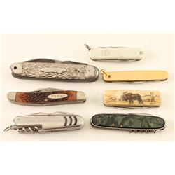 Lot of 7 Pocket Knives