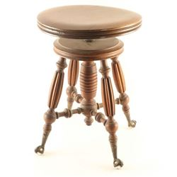 Victorian Era Piano Stool