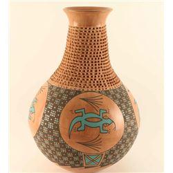 Hand Made Mata Ortiz Vase