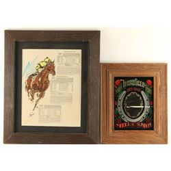 Preakness States Chart with Original Watercolor