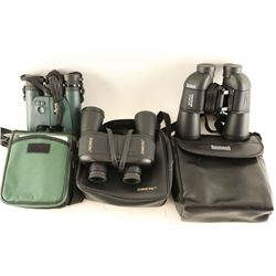 Lot of 3 Pairs Binoculars