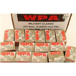 Lot of .223 Rem Ammo