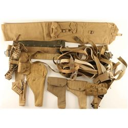 Lot of UK WWI-WWII Web Gear