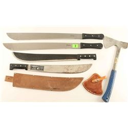 Machete & Axe Lot