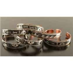 Lot of 6 Navajo Storyteller Bracelets