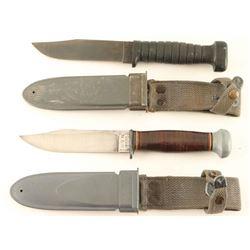 Lot of 2 USN Knives