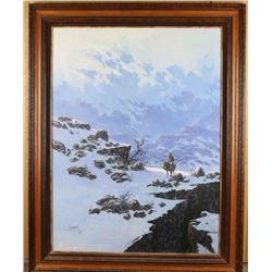 Original Oil on Canvas by Braun