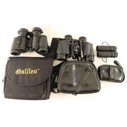 Lot of 3 Pairs Binoculars