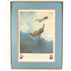 "Signed Print by Gregory ""Pappy"" Boyington"