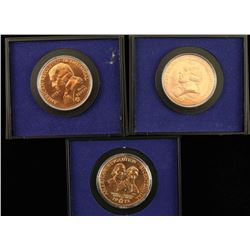 Lot of 3 American Revolution Bicentennial Coins