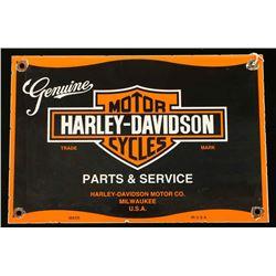 Vintage Genuine Harley Davidson Motor Cycles