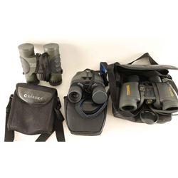 Three Pairs Binoculars