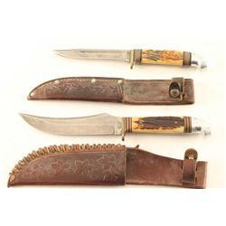Lot of 2 Vintage Knives