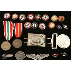 Lot of WWII Insignia