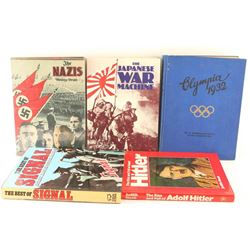 Lot of 5 German Military Related Books