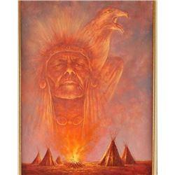 Original Oil on Canvas by Bill Larsen