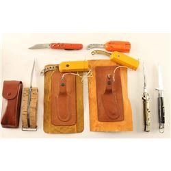 Lot of 7 Knives