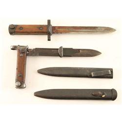 Italian Carcano Folding Bayonet