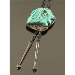 Sterling & Turquoise Bolo Tie