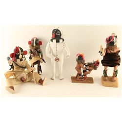 Boxed Lot of Kachinas
