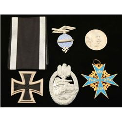 Lot of German WWI & WWII Badges & Insignia