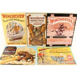 Lot of 8 Repro Winchester Advertisers