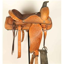 Hand Made Saddle King Tooled Saddle